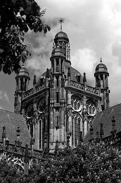 Sint-Janskathedraal zwart wit von Rob Bruijn