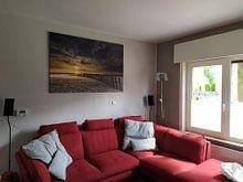 Kundenfoto: Zonsondergang in Haamstede (3) von Koos de Wit, auf leinwand