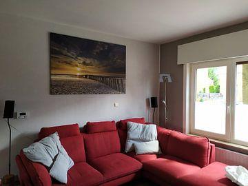 Kundenfoto: Zonsondergang in Haamstede (3) von Koos de Wit