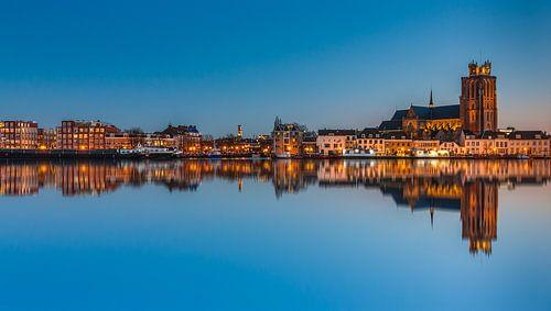 Dordrecht In The Blue Hour von Ilya Korzelius
