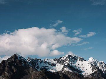 Berggipfel auf den Lofoten, Norwegen von Jelle Dobma