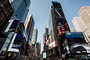 Architektur Times Square - New York von Tine Schoemaker