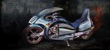 Futuristisches Reisemotorrad, Fantasie