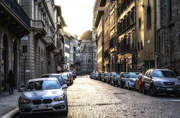 Italiaanse straat in de vroege ochtend von Mario Calma