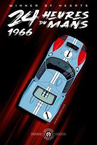 Winnaar van de harten 24 Heures du Mans 1966, Ken Miles van Theodor Decker