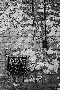 details der verlassenen fabrik urbex