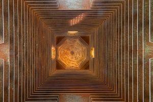 Abstract plafond van