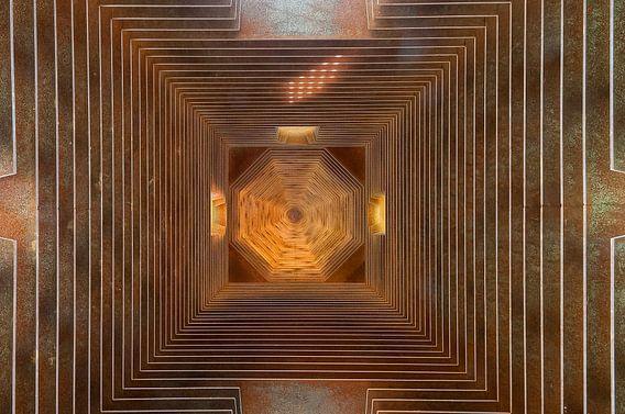 Abstract plafond