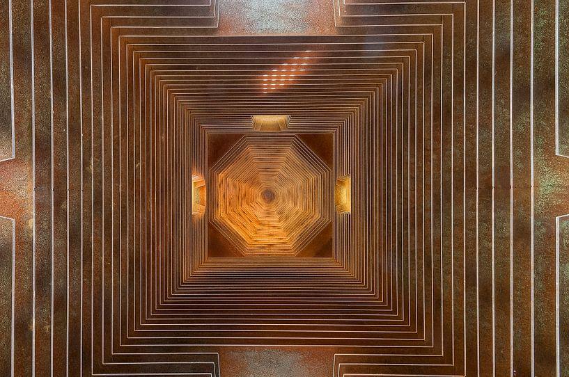 Abstract plafond van Danny Motshagen