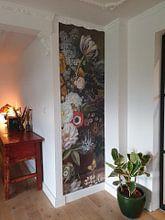 Klantfoto: Stilleven met bloemen, Eelke Jelles Eelkema (gezien bij vtwonen), op naadloos behang