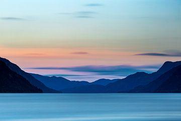 Noorwegen, Tinnsjå meer (Telemark) von Ton Drijfhamer