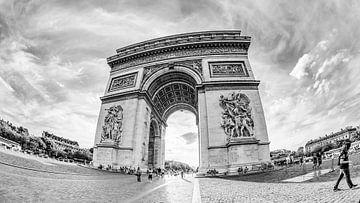 Triumphbogen in Paris von Günter Albers