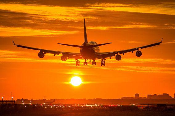 Martinair Boeing 747 landt op Schiphol van Dennis Dieleman