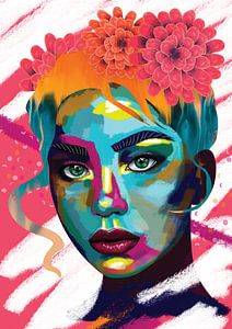 Kleur maakt Gelukkig van Charlie Moon