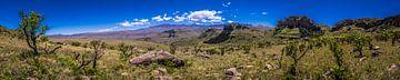 Panorama Lotheni Zuid-Afrika von Björn Jeurgens