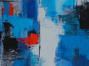 Rot im Blau von Claudia Neubauer