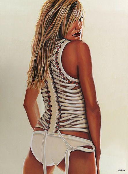 Cameron Diaz schilderij