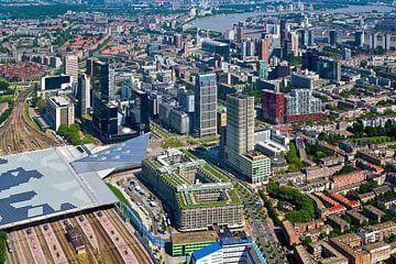 Centre aérien Rotterdam sur Anton de Zeeuw
