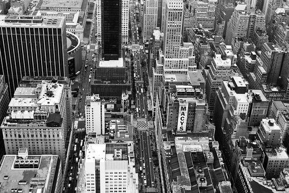 Streets of NY van Frank Diepeveen