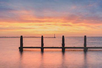 Kleurrijke zonsopkomst van Berny Schop