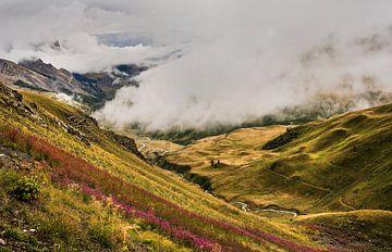 Ansichten in den französischen Alpen