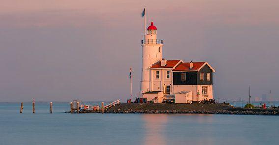 Lighthouse Paard van Marken - Netherlands van Henk Meijer Photography