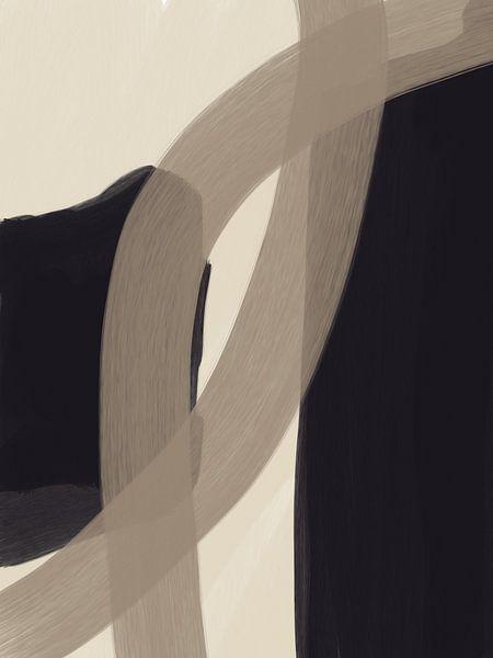 Modern abstract - disputare van YOPIE illustraties