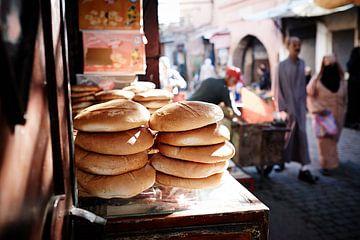 Markt marrakesh van Karel Ham