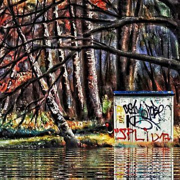 Deep down in the forest van Ruben van Gogh