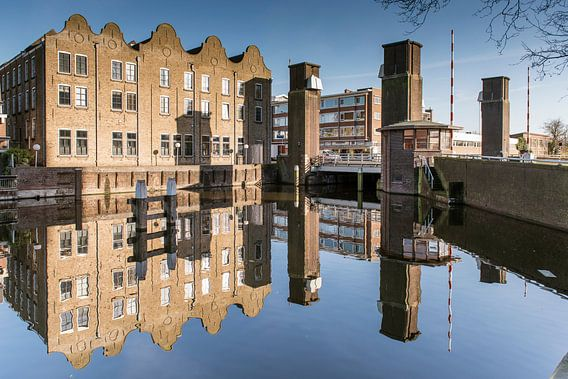 Oranjebrug Schiedam van Jan Sluijter