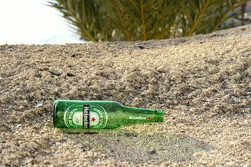 Heineken flesje in Benidorm van Lukas van der Burg