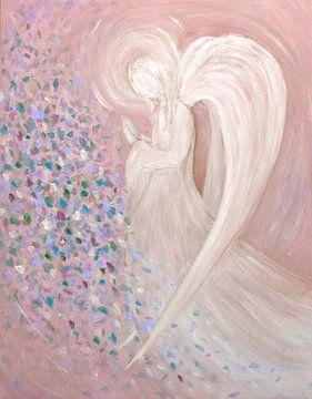 Engel Afbeelding -  pastel van Christine Nöhmeier