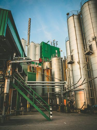 Industrieel gebouw van Martijn Tilroe