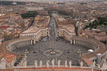 Sint Pieter - rome - Vaticaanstad van Erik van 't Hof