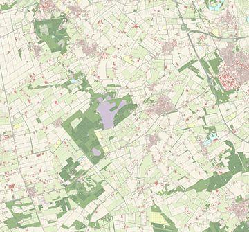 Kaart vanSint Anthonis