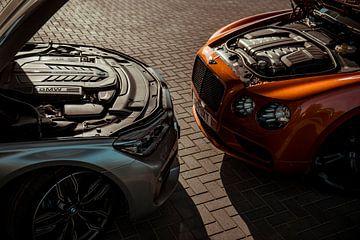 BMW M760Li und Bentley Mulsanne W12 S sur Sytse Dijkstra