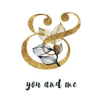 Toi et moi - Toi et moi - Affiche d'amour sur Felix Brönnimann
