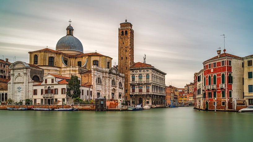 Venise - Grand Canal -Chiesa di San Geremia III sur Teun Ruijters