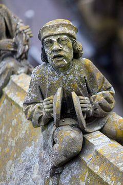 Beeldje van de Sint-Janskathedraal in Den Bosch van Kees van Dun