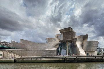 Guggenheim museum Bilboa 3 von Ronald Tilleman