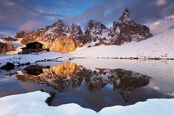 Prachtig landschap, Dolomieten van Frank Peters