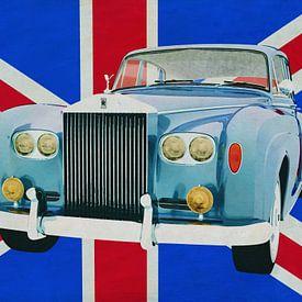 Rolt Royce Silver Cloud voor de Union Jack... van Jan Keteleer
