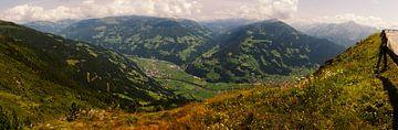 Panorama het Zillertal. van