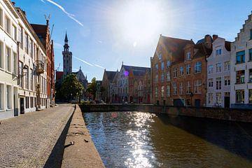 Spiegelrij en Jan van Eyckplein van Brugge van Martijn Mureau