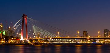 Rotterdam Willemsbrug van Patrick de Joode