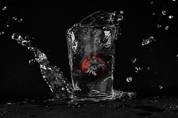 Erdbeer-Splash von Jim Allen