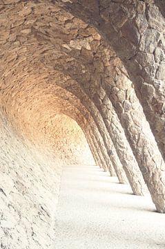 Gaudi's Park Güell in Barcelona van Jessica van den Heuvel