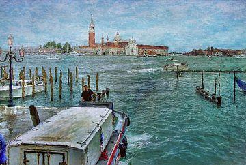 view from around San Marco across to San Giorgio Maggiore sur Natasja Tollenaar