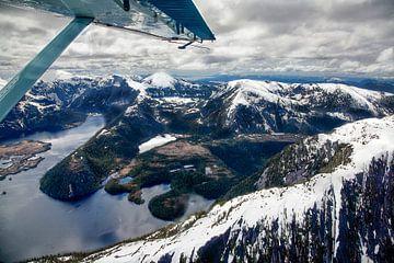 Fjorde von Alaska vom Wasserflugzeug aus von Arie Storm