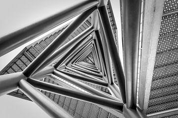 Wachturm von unten von Pierre Verhoeven